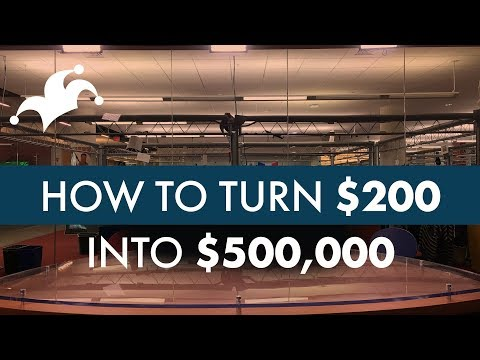 How to Turn $200 into $500,000 - Compound Interest