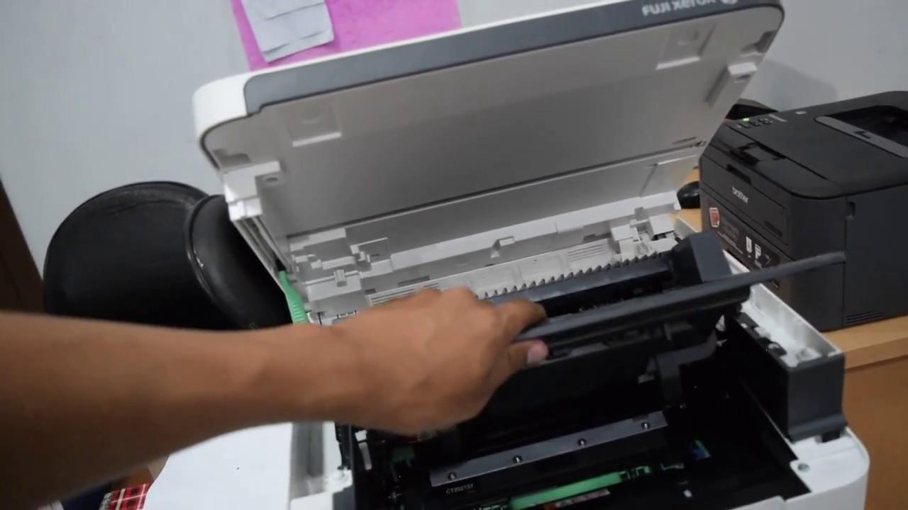 Fuji Xerox DocuPrint 115W Paper Jam Solution | clear massage paper jam in  xerox