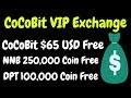 CoCoBit Christmas Airdrop ( VIP Exchange ) | 250,000 NNB Token | BestEarningTips