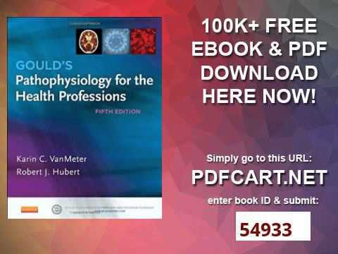 Gould S Pathophysiology For The Health Professions 5e Youtube