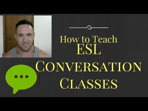 How to Teach ESL Conversation Class. The BEST Way I've Found Teaching English Abroad.
