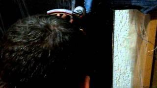 Установка броненакладки на вхідні двері Частина 2