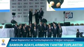 Cumhurbaşkanımız Erdoğan, Samsun Belediye Başkan Adaylarını Tanıtım Toplantısı'nda konuşuyor...