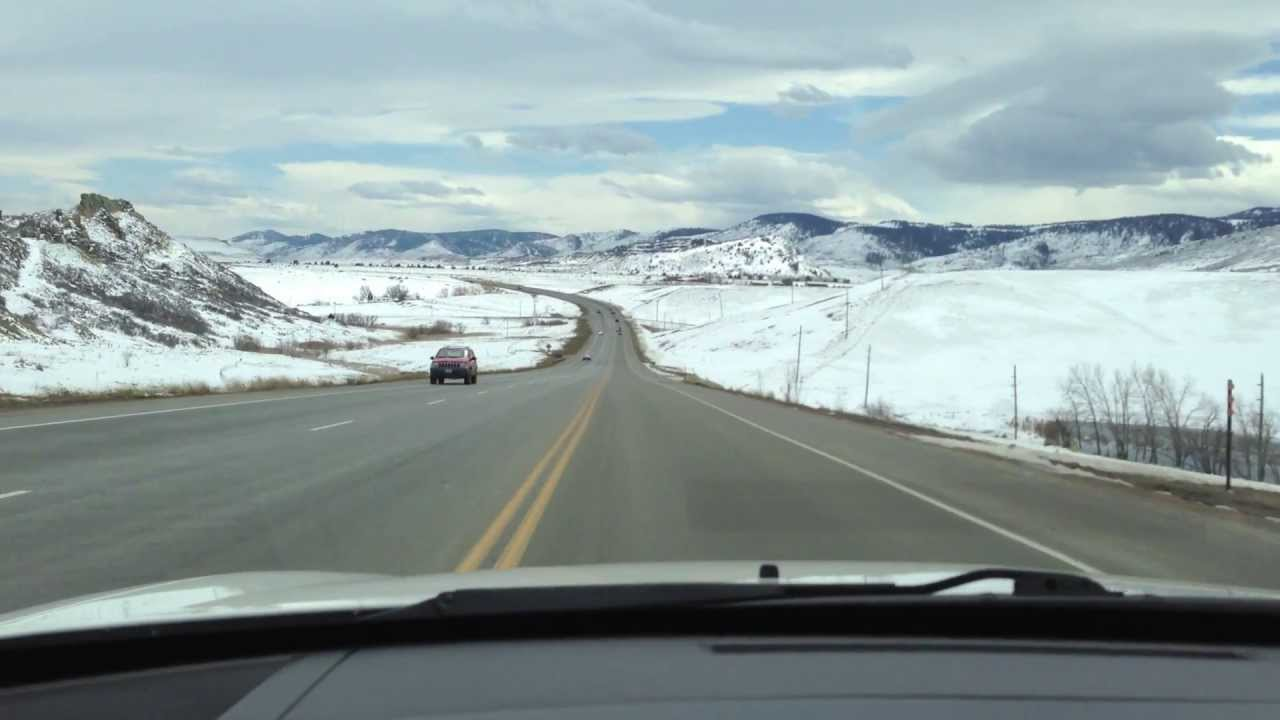 Dodge Charger R T Cruising Rocky Mountains Windshield