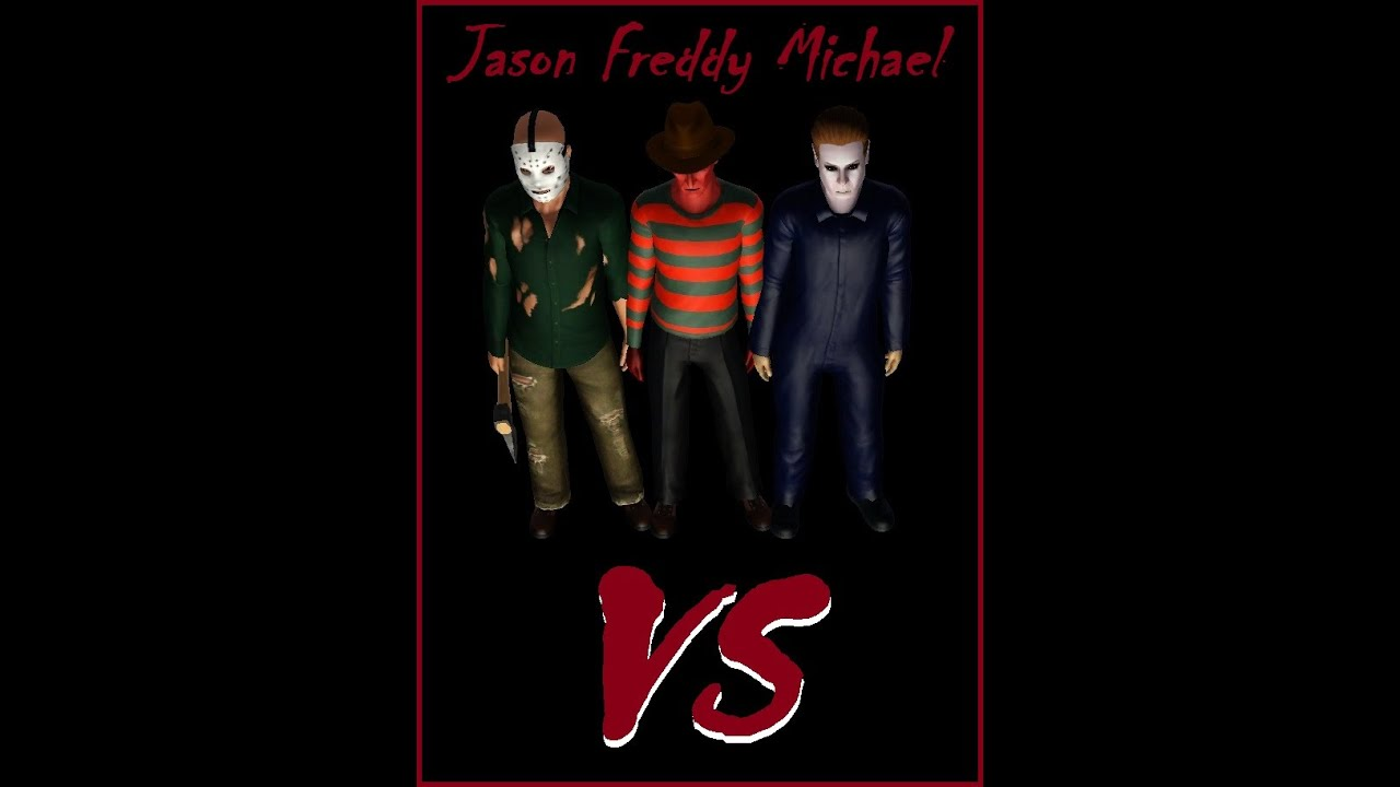 freddy vs jason vs michael full movie 2015 sims 3