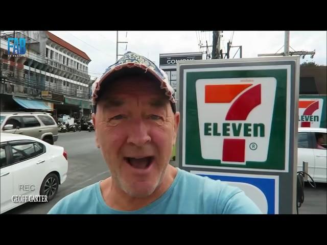 PATTAYA MALE - Geoff Carter checks out Pattaya's new Giant 7-11