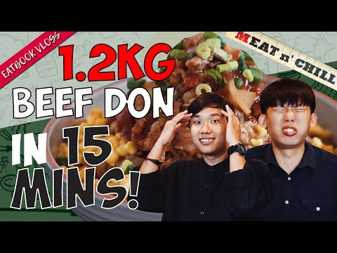 FINISH THIS 1.2KG BEEF DON IN 15 MINUTES AND IT'S FREE! | Eatbook Vlogs | EP 109