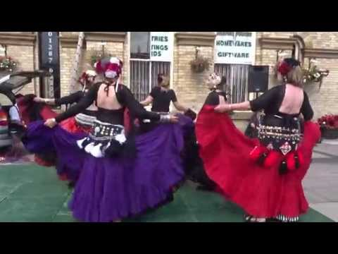 Tribal Marsquers at Saltburn Folk Festival 2015