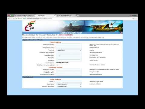 Hướng Dẫn (Kinh Nghiệm) Xin, điền đơn, Và Thanh Toán Visa Ấn Độ Online