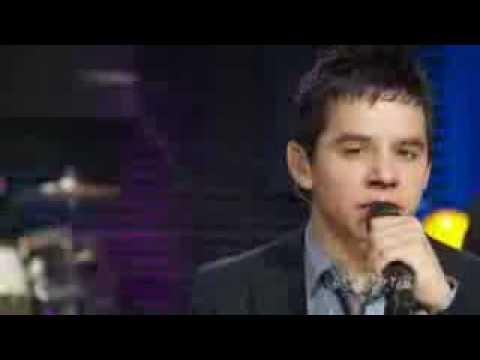 David Archuleta AOL Sessions - Crush Live HQ HD