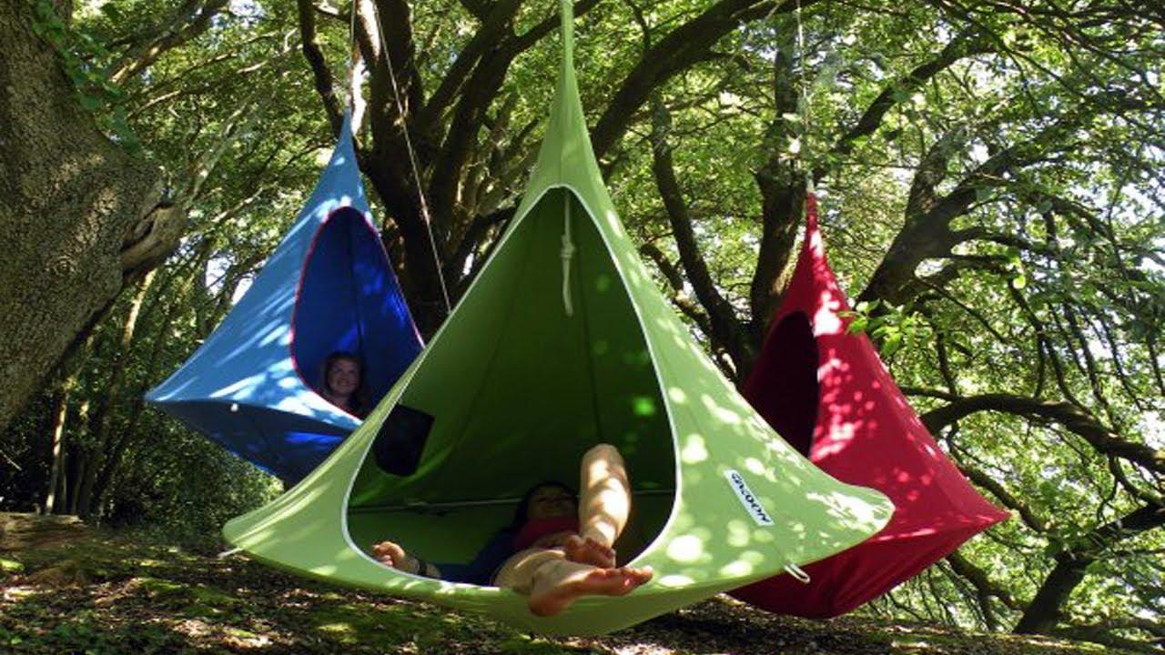 Hanging Hammock Chairs Adding Camping Fun To Modern Interiors