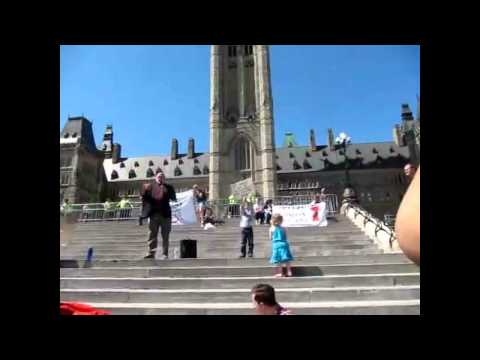 Stephen Harper's Government is Illegitimate: Prof. Anthony Hall Speaks on Parliament Hill