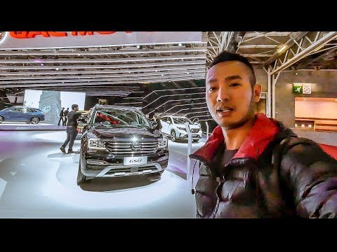Khám phá xe TQ giá rẻ GAC GS8 ở Paris Motorshow 2018 chỉ $22 ngàn USD |XEHAY.VN|