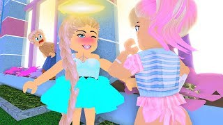 My Twin Used My Crush To Get the LIGHT HALO... | Roblox Royale High Roleplay