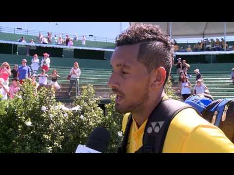 Interview: Nick Kyrgios after winning rubber 2