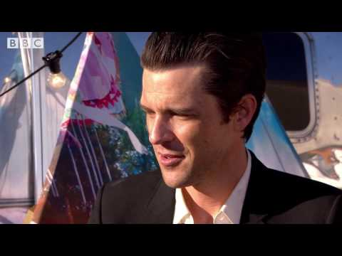 """""""That's the craziest it's ever been"""" - The Killers chat to Jo Whiley"""