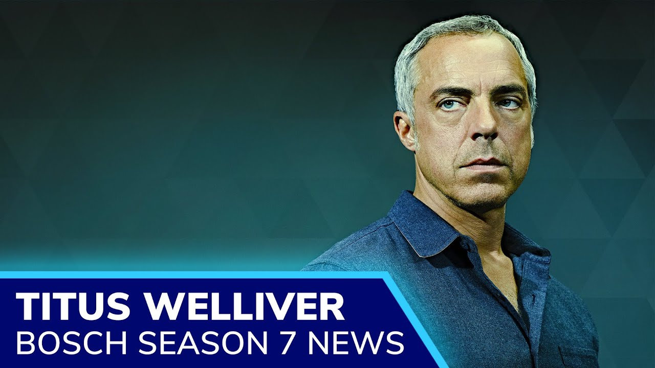 Download BOSCH Season 7 will be the final story of Harry Bosch (Titus Welliver) as Amazon cancels the show