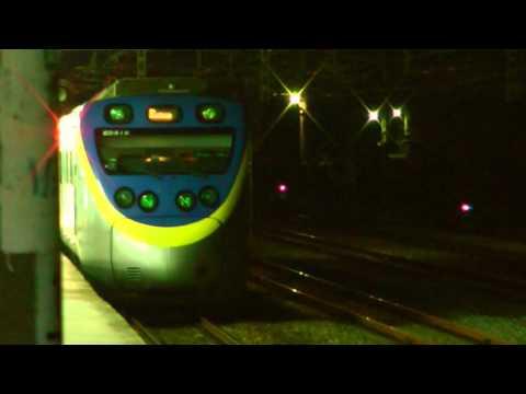 [HD] The Taiwan TRA up Local train no. 1322 EMU800 (810 + 809) depart the Miaoli Station