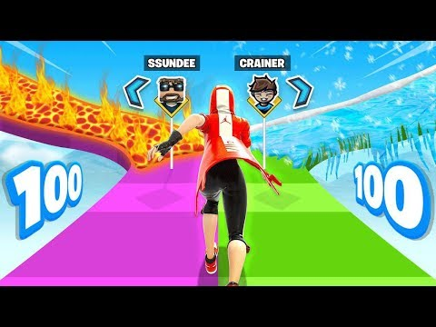 100 Stage *SSUNDEE* CREATIVE MAP (Fortnite)