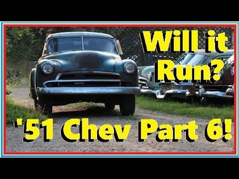 "First drive in 50 Years! ""Will it Run?"" 1951 Chevy Bel Air... Episode 22"