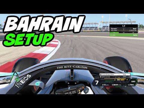 F1 2020 BAHRAIN HOTLAP + SETUP (1:25.243)