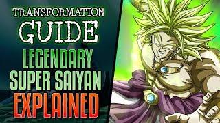 LEGENDARY Super Saiyan Explained