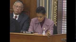 2012.11.28 - Questions by Representative Donna F. Edwards (D-MD)