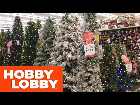 HOBBY LOBBY CHRISTMAS 2019 CHRISTMAS DECORATIONS HOME DECOR SHOP WITH ME SHOPPING STORE WALK THROUGH