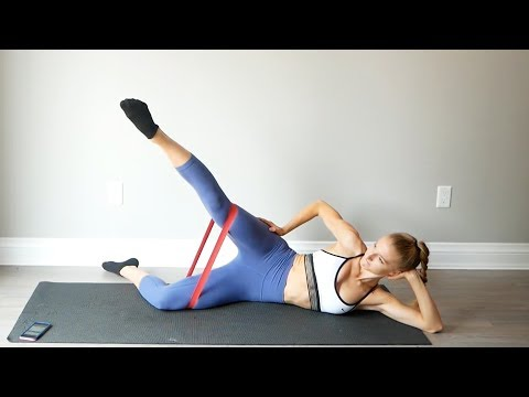 AT HOME INNER & OUTER THIGH WORKOUT | workout with me