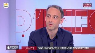 Invité : Raphaël Glucksmann - Territoires d'infos (18/04/2019)