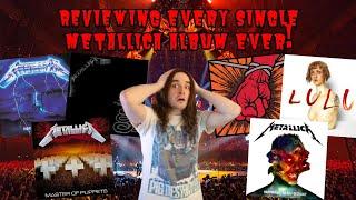 Reviewing EVERY Metallica Album!