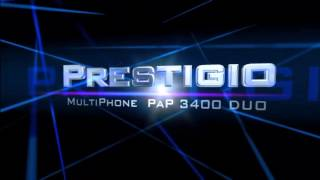 Prestigio MultiPhone 3400 DUO‎ -Intro