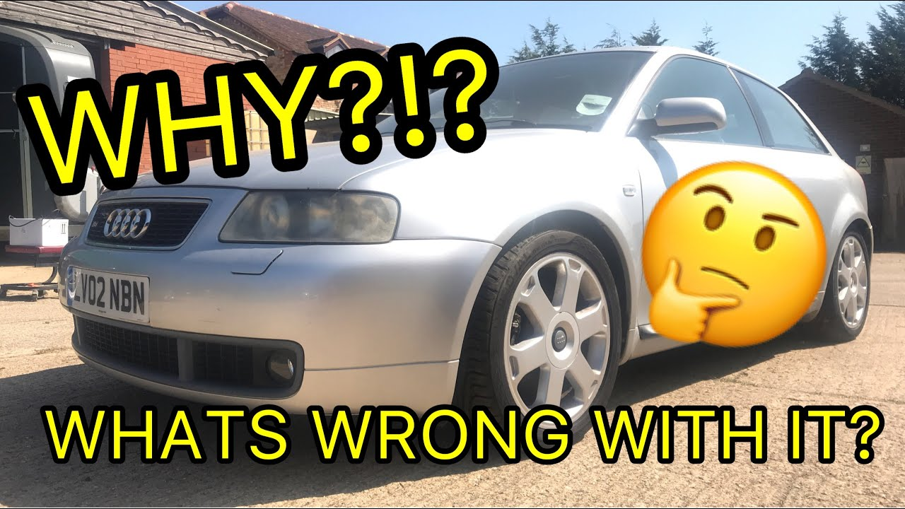 I bought a CHEAP, ABANDONED Audi S3 8L! Whats the catch?? Copart UK Salvage yard!