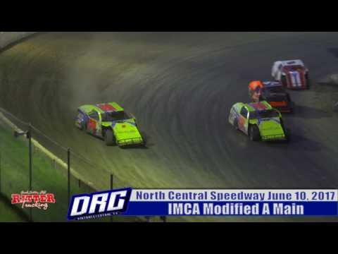 North Central Speedway 6/10/17 IMCA Modified Finish