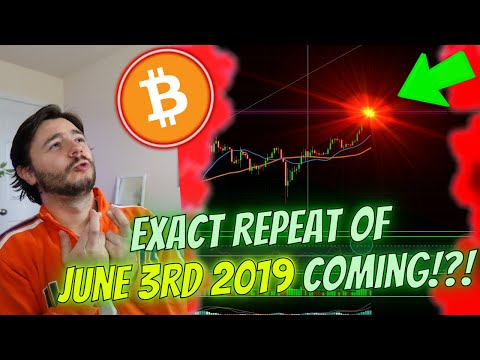 BITCOIN EXACT **JUNE 3RD 2019** REPEAT!? – HERE'S *WHEN AND HOW* WE'LL KNOW!