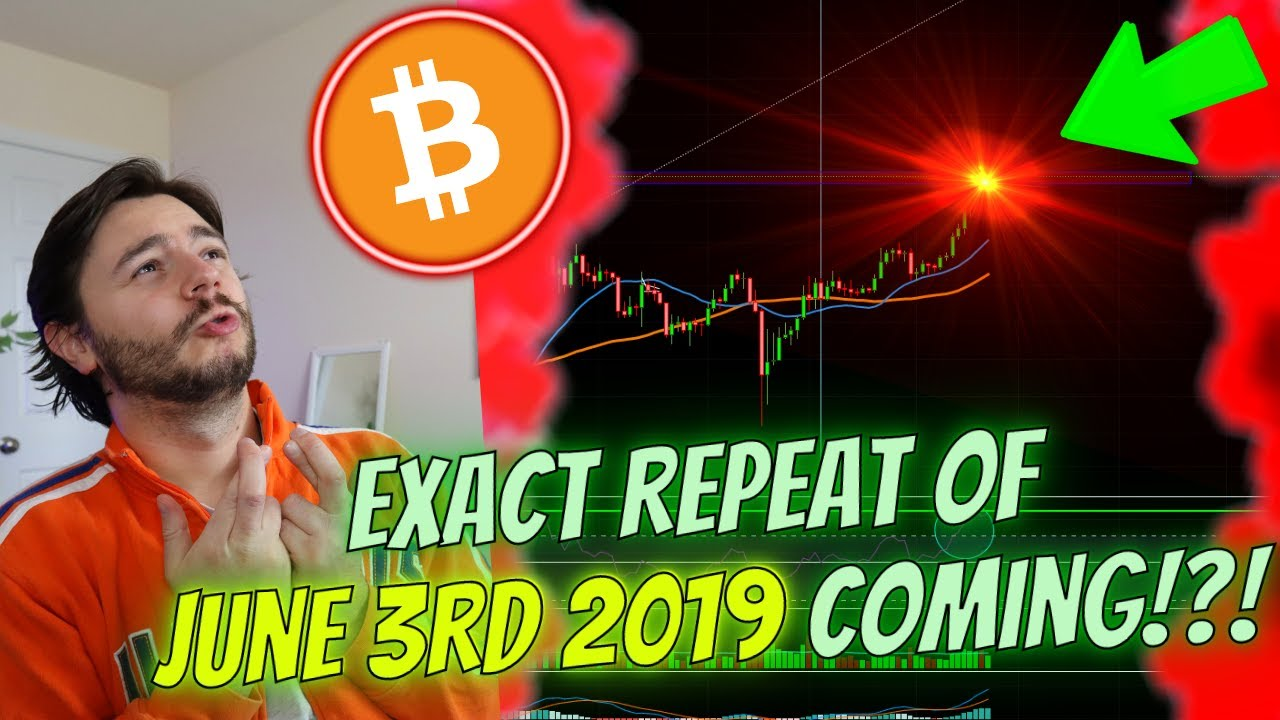 BITCOIN EXACT **JUNE 3RD 2019** REPEAT!? - HERE'S *WHEN AND HOW* WE'LL KNOW!