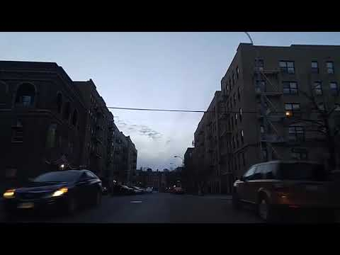 Driving by Hunts Point Bronx,New York