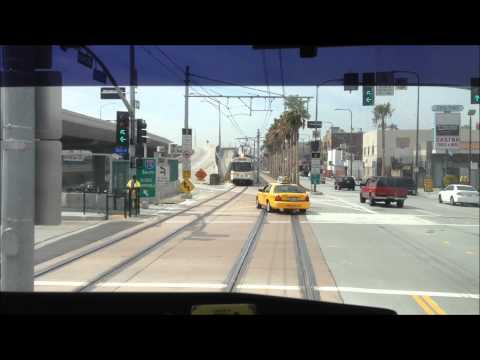 Expo Line cab view 4/4/12
