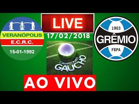 Veranopolis x Grêmio | AO VIVO | Campeonato Gaucho 17/02/2018