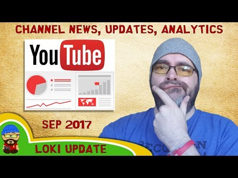 State of the Channel Address - Sep 2017 - Youtube Analytics, News, Update