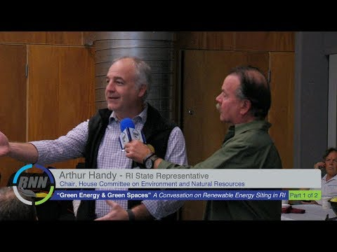 Green Energy & Green Spaces: Renewable Energy Siting in RI, Part I of II