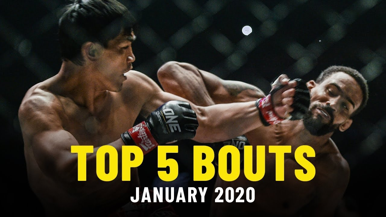 Top 5 ONE Championship Fights   January 2020