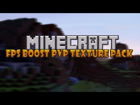 TEXTURA ZA SLABIJE RACUNARE-Minecraft  FPS Boost PvP texture pack 8x8 1.7/1.8