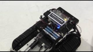 【宙博2009】大阪大学大学院工学研究科「Omni-Crawler」