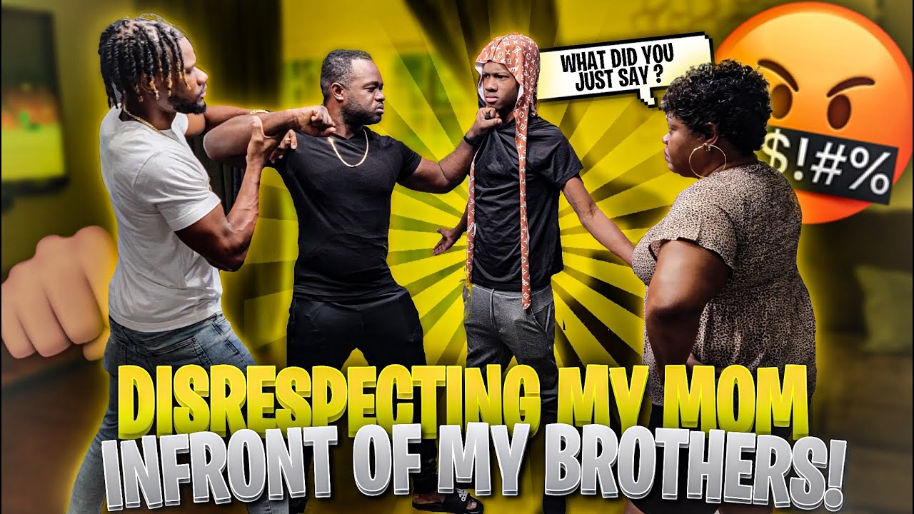 Download Disrespecting MOM In Front Of Older Brothers - PRANK GONE WRONG !