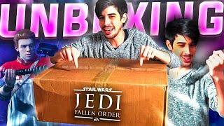 SORTEO XBOX y UNBOXING  Star Wars: JEDI FALLEN ORDER #SponsoredbyEA