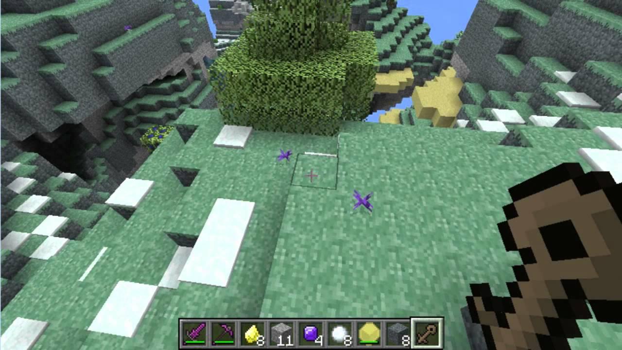Minecraft MOD Como Hacer Un Portal Al Cielo Review Mod Aether 10 Versin Antigua YouTube