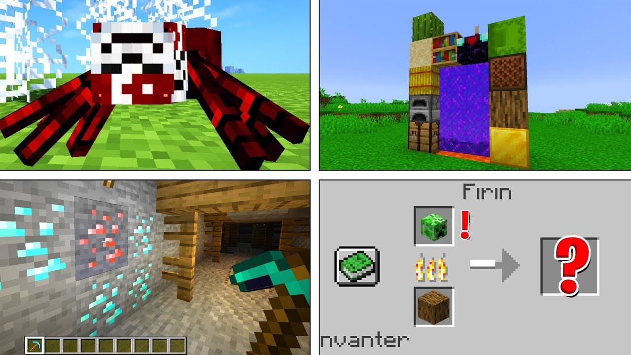 BOZUK MİNECRAFT'TA MADEN YAPMAK - Minecraft