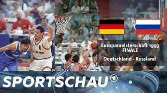 Re-Live: Deutschland im Basketball-EM-Finale 1993 gegen Russland | Sportschau