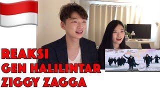 Reaksi Gen Halilintar - Ziggy Zagga  Music Video  | 11 Kids + Parents Reaction